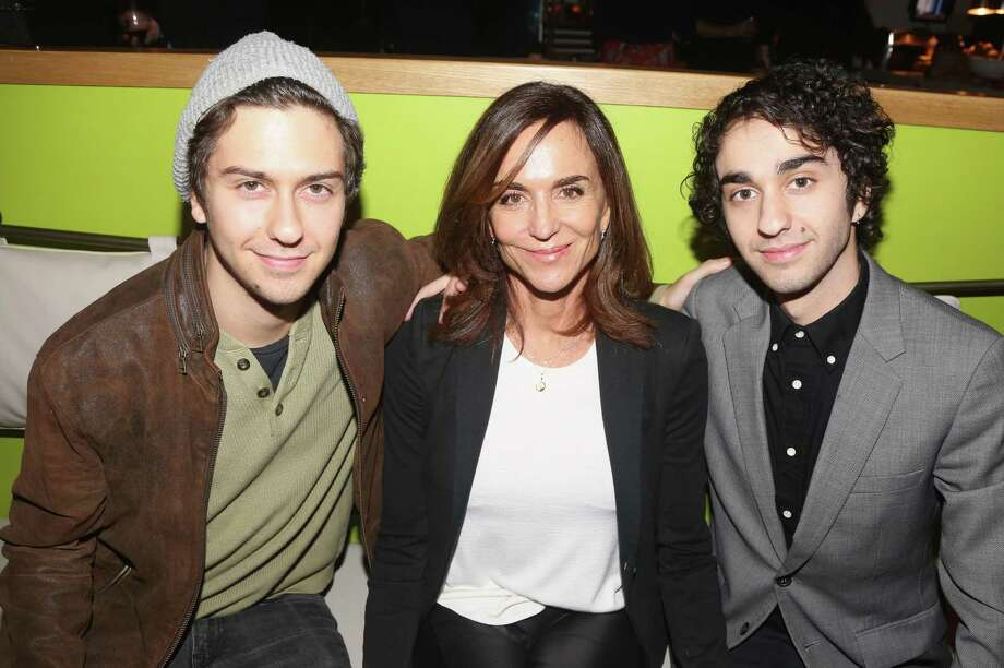 "Polly Draper directed her sons Nat (left) and Alex Wolff in ""Stella's Last Weekend,"" which will premiere at the San Antonio Film Festival. Photo: Bruce Glikas /FilmMagic / 2017 Bruce Glikas"