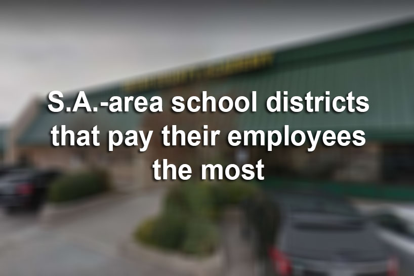 here 39 s which bexar county school districts pay their employees the most san antonio express news. Black Bedroom Furniture Sets. Home Design Ideas
