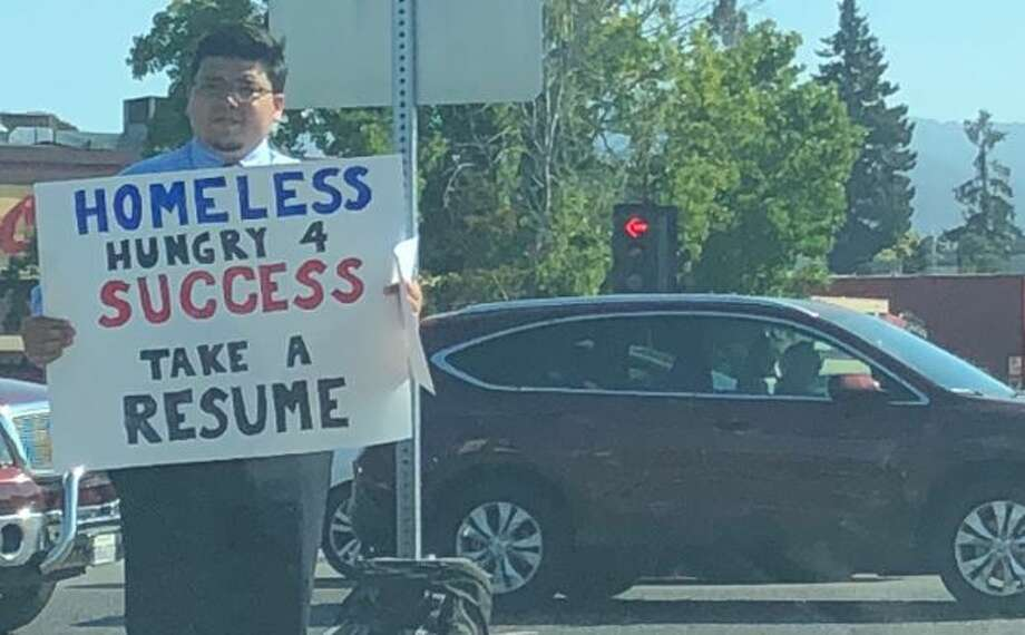 Homeless Texas A&M grad handing out resumes on street goes viral ...