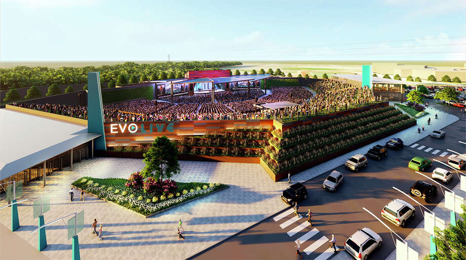 San Marcos-based EVO Entertainment Group announced plans for EVO Live, a 15,000 seat amphitheater, in Schertz. Photo: EVO Entertainment Group