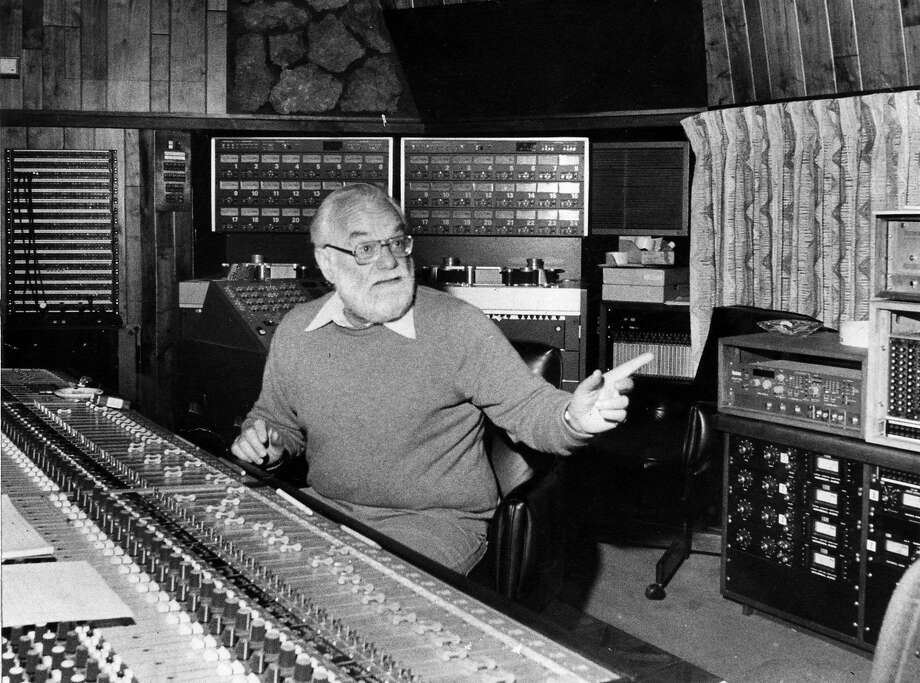 Saul Zaentz, of Fantasy Records, who went on to win several Oscars in filmmaking.  Photo by Fred Larson. Photo: Fred Larson / Sfc