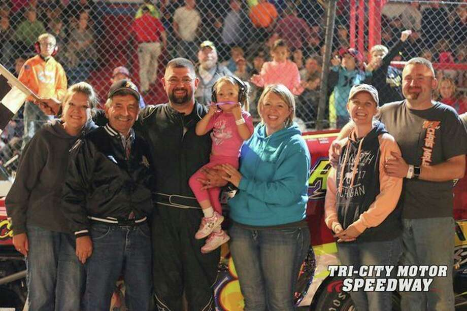 Nate Jones won the IMCA Modified division at Tri-City Motor Speedway on July 27.
