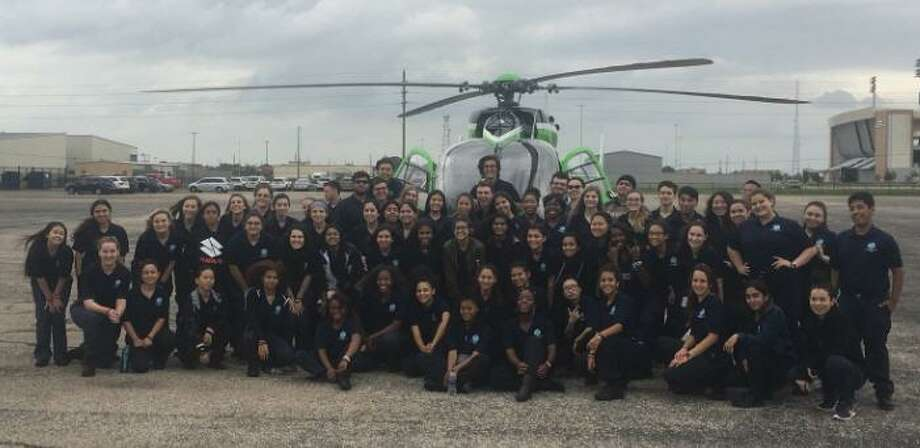 The emergency medical technician program offered through Career and Technical Education provided by the Katy Independent School District has grown in size since it began 14 years ago. Photo: Katy ISD EMT Program / Katy ISD EMT Program