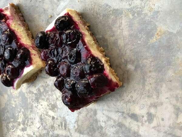Repertoire: Sometimes summer calls for cheesecake bars
