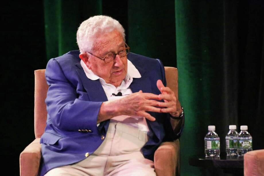 File photo of Henry Kissinger from the 2017 KentPresents. Photo: Randy O'Rourke / Hearst Connecticut Media / The News-Times Contributed