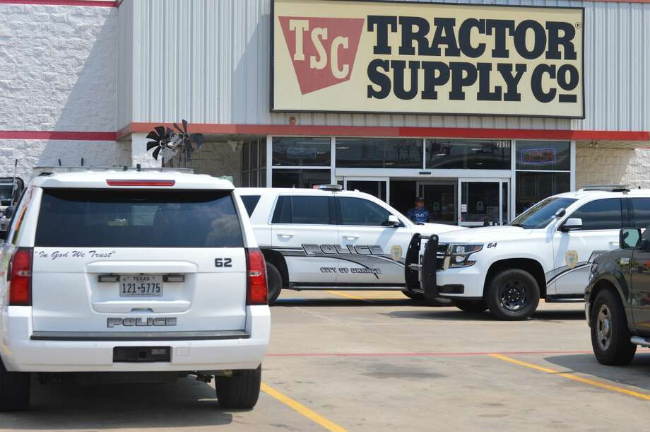 Police are searching for a man suspected of robbing a Tractor Supply in Orange and threatening the employee with a crowbar Sunday, July 29, 2018.