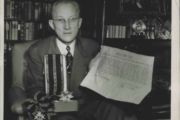 In recognition of his gifts and support, Strake received several honorary degrees and four papal honors between 1937 and 1950, including two of the Vatican's highest honors for a layman-the Order of St. Sylvester and the Order of Malta.