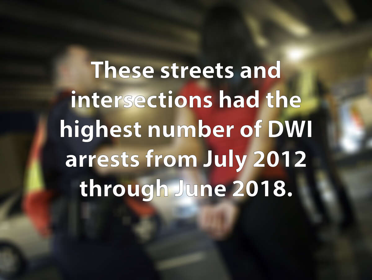 From July 2012 through June 2018, police arrested people more than 30,000 times on suspicion of driving under the influence of alcohol. Click through the slideshow to discover which streets and intersections resulted in the highest number of arrests.