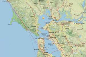 A 3.9-magnitude earthquake struck the Bay Area Monday afternoon.