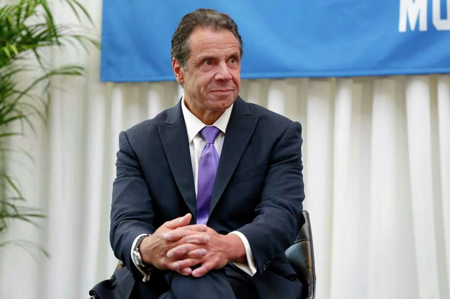 New York Gov. Andrew Cuomo attends the ceremony marking Billy Joel's 100th performance at New York's Madison Square Garden, Wednesday, July 18, 2018. (AP Photo/Richard Drew) Photo: Richard Drew / AP