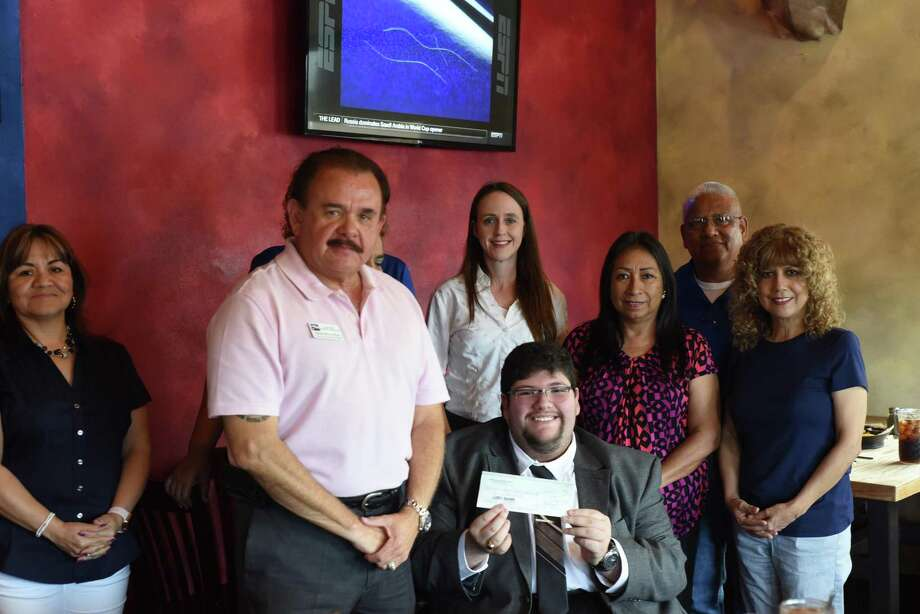 Scholarships are awareded to the different students on behalf of the TSTA at Eduardo's Restaurant, Thursday, June 14, 2018. Photo: Christian Alejandro Ocampo / Laredo Morning Times
