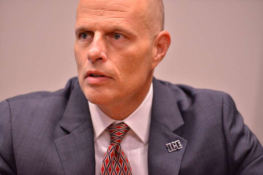 Ronald D. Vitiello, the new acting director of U.S. Immigration and Customs Enforcement, visited San Antonio on Monday and discussed the family seperations. Photo: Robin Jerstad/Photo Correspondent, Photo Correspondent / San Antonio Express News