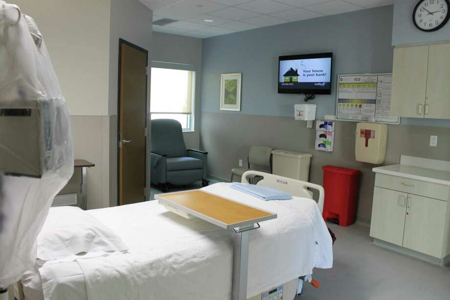 An ICU room at Doctors Hospital is shown in this file photo. Photo: /