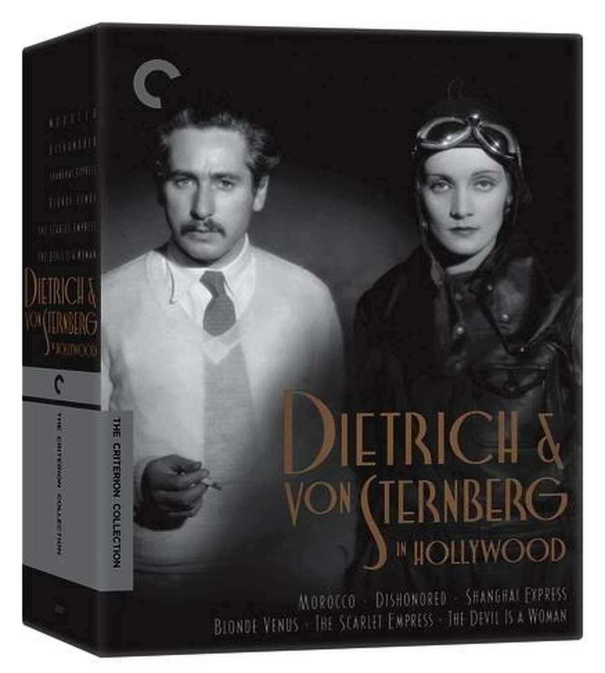 Director Josef Von Sternberg and Marlene Dietrich.