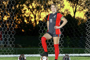 Alton senior Brianna Hatfield won All-State honors in 2018 for the second consecutive season and is The Telegraph Large-Schools Girls Soccer Player of the Year. She will play this fall at Florida Gulf Coast University.