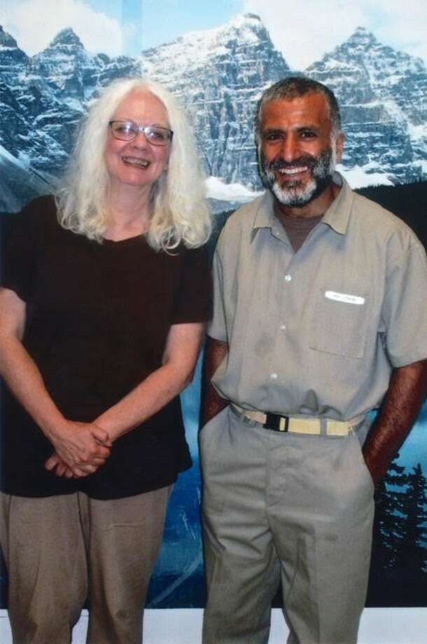 Jeanne Finley and Yassin Aref Photo: Provided Photo