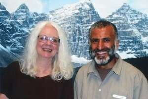 Jeanne Finley and Yassin Aref