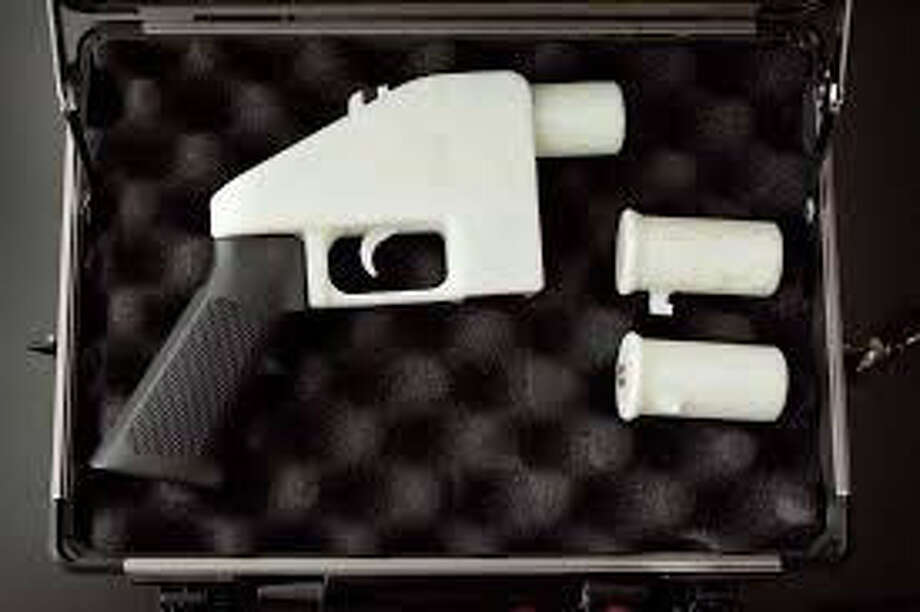 """A printable pistol released to Internet was named """"Liberator"""" in April 2013. Photo: Photo Courtesy Of Cody Wilson / Cody Wilson"""