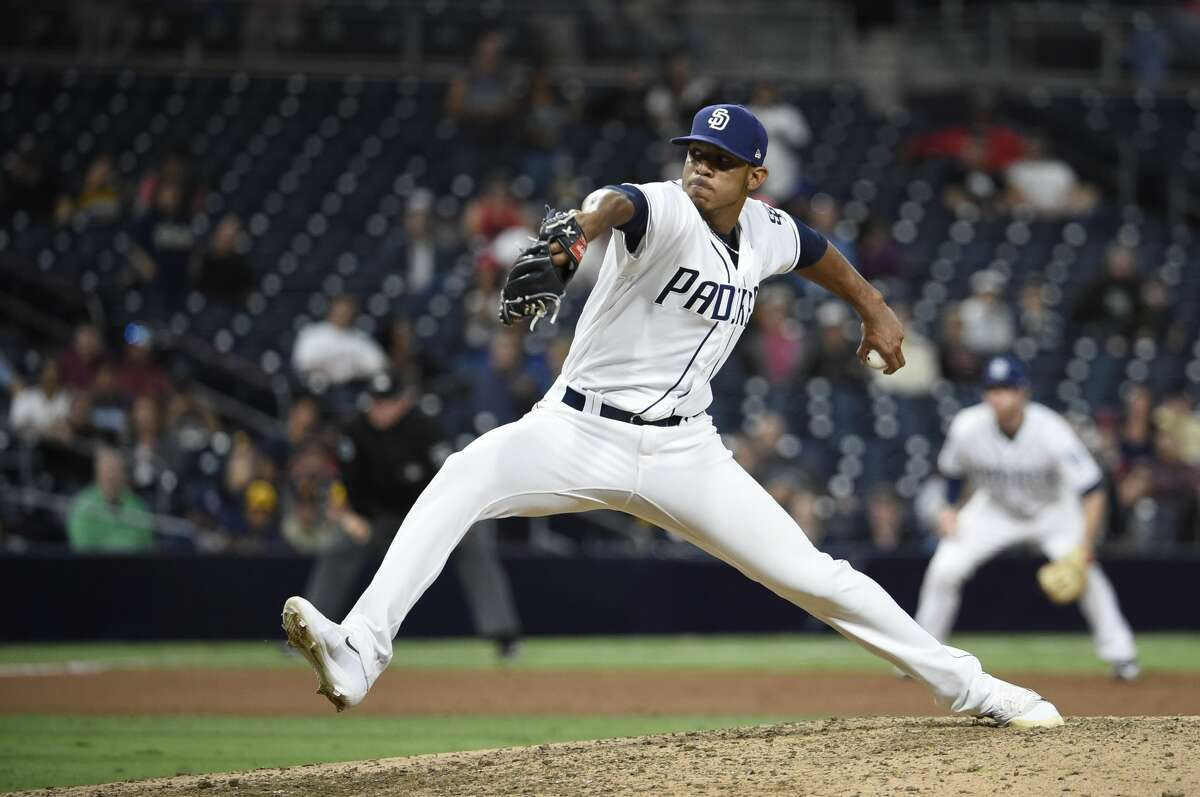 PHOTOS: Players suspended under MLB's policy on domestic violence Jose Torres Team: Padres Games: 100 Date: June 2018 Current status: Suspended; off Padres roster