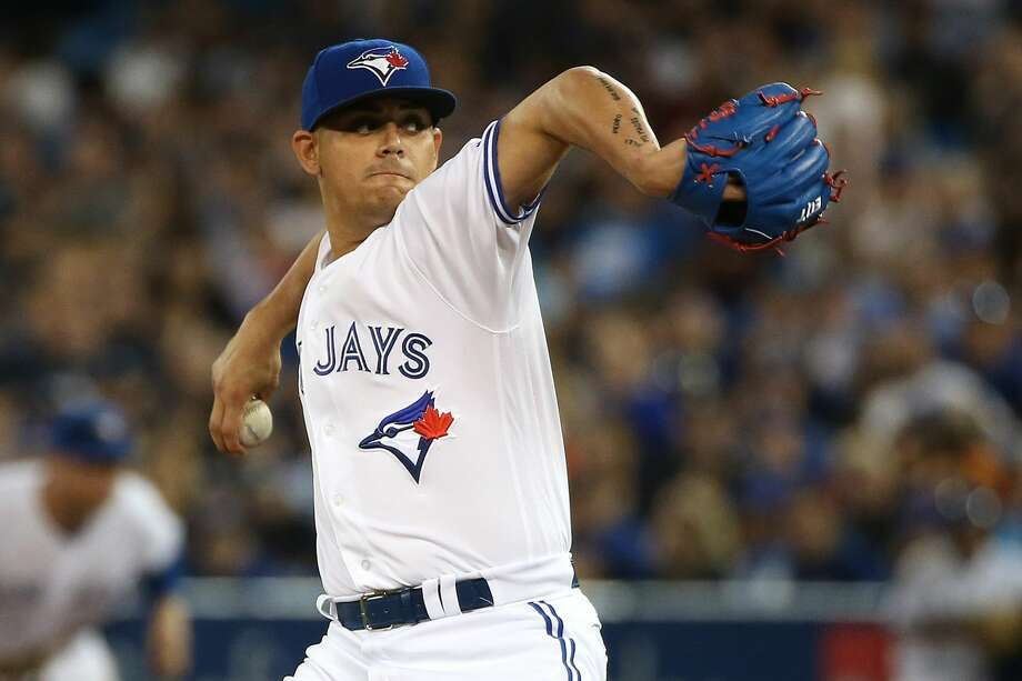 Meet the newest Astro, Roberto Osuna. Photo: Steve Russell/Toronto Star Via Getty Images