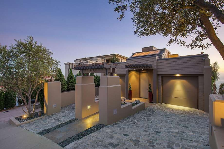 670 Hiller Drive in Oakland is a three-bedroom built in 1993 that's available for $2.195 million. Photo: Open Homes Photography