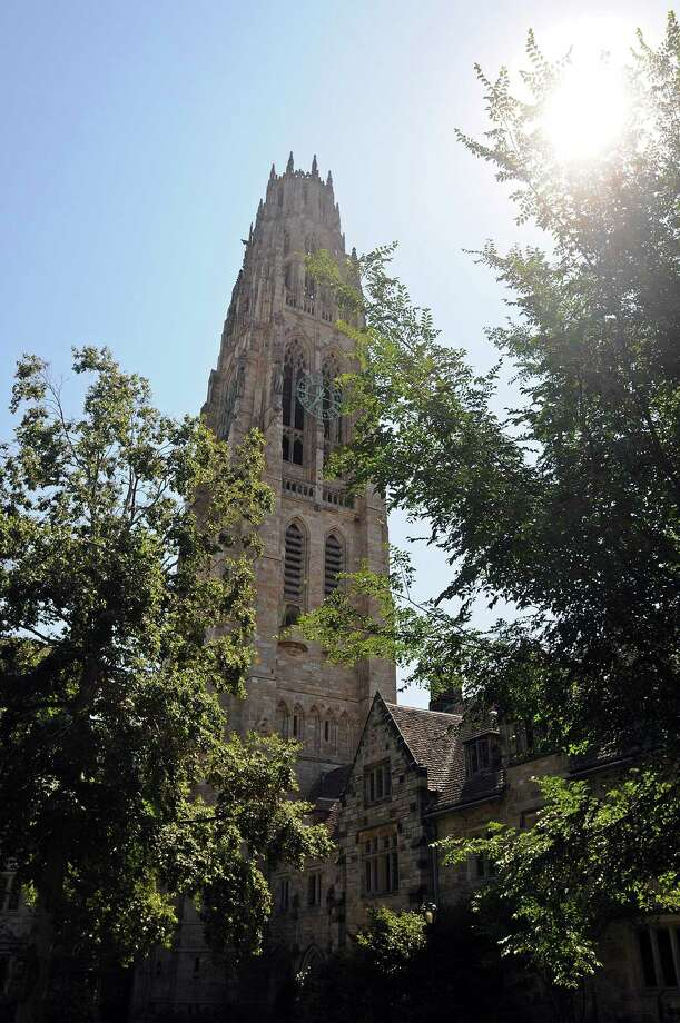 Harkness Tower at Yale University. Photo: New Haven Register File Photo