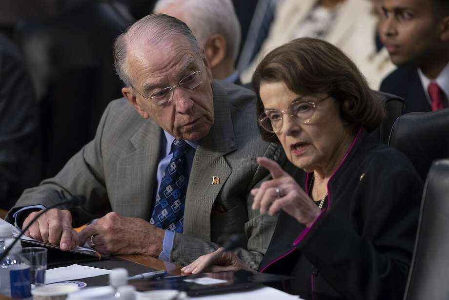 Sen. Chuck Grassley, R-Iowa, and Sen. Dianne Feinstein, D-Calif. have called for an investigation of news reports of abuse of immigrants at government detention centers. Photo: J. Scott Applewhite / Associated Press