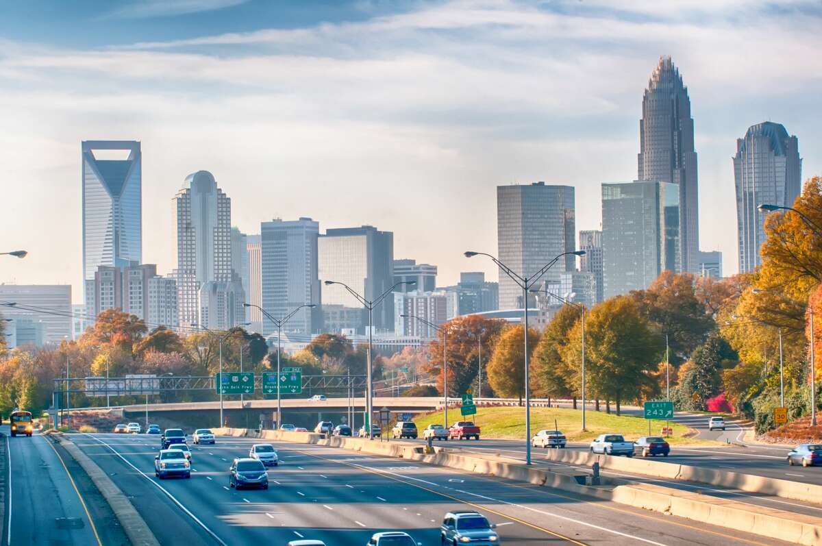 25. Charlotte, North Carolina ?-?Glassdoor City Score (out of 5): 3.9 ?-?Job Openings: 55,030 ?-?Median Base Salary: $48,000 ?-?Job Satisfaction Rating (out of 5): 3.4 ?-?Median Home Value: $195,800 ?-?Hot Jobs: Data Scientist, Business Analyst, Project Manager