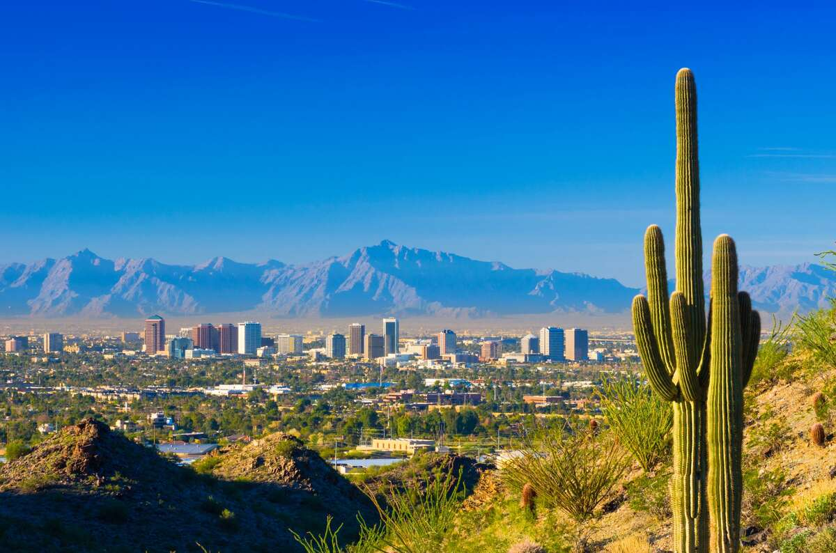 9. Phoenix, Arizona Population gain per 10,000 members: 63 Last year's rank: Not in the top 10