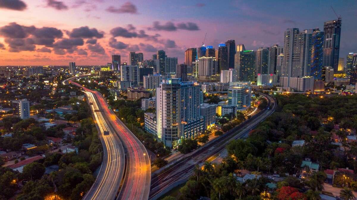 MiamiReverse commuters: 66.9 percent
