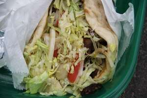 A classic gyro at FGK in Byram.