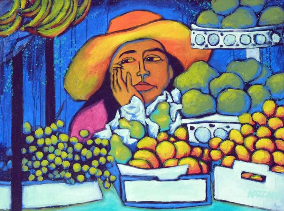 Erin Nazzaro, a Connecticut artist, was influenced by an extended stay in Mexico.