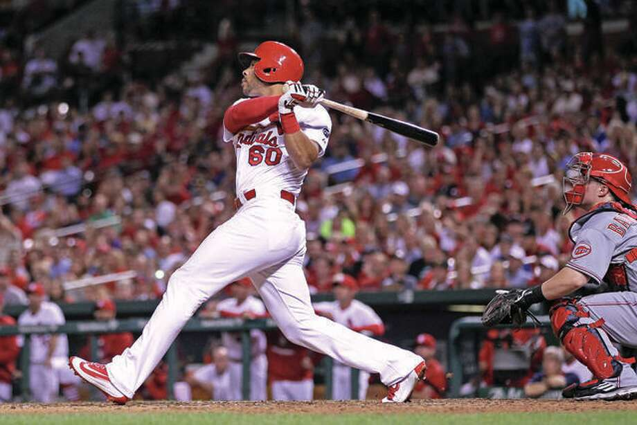 The Cardinals traded outfielder Tommy Pham Tuesday to the Tampa Bay Rays for three minor leaguers.