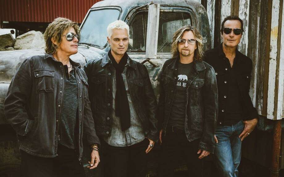 Bush, The Cult and The Stone Temple Pilots, pictured above, are teaming up to create a tri-headline event at the Foxwoods Resort Casino in Mashantucket on Saturday Aug. 4. Photo: Contributed Photo /