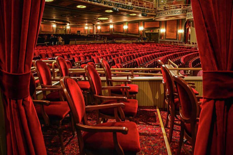 A side-of-house view at Waterbury's Palace Theater. Photo: Palace Theater / Contributed Photo