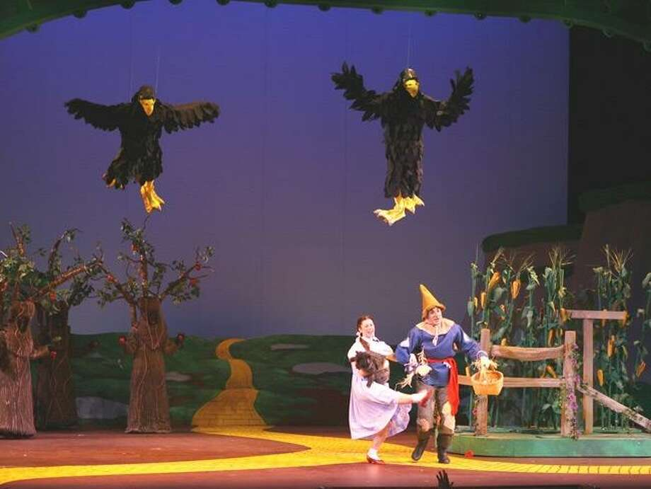 """A Fly by Foy elevation for """"The Wizard of Oz"""" at Grand Rapids Civic Theatre. The Hamden production will use similar technology. Photo: FlybyFoy.com / Contributed Photo"""
