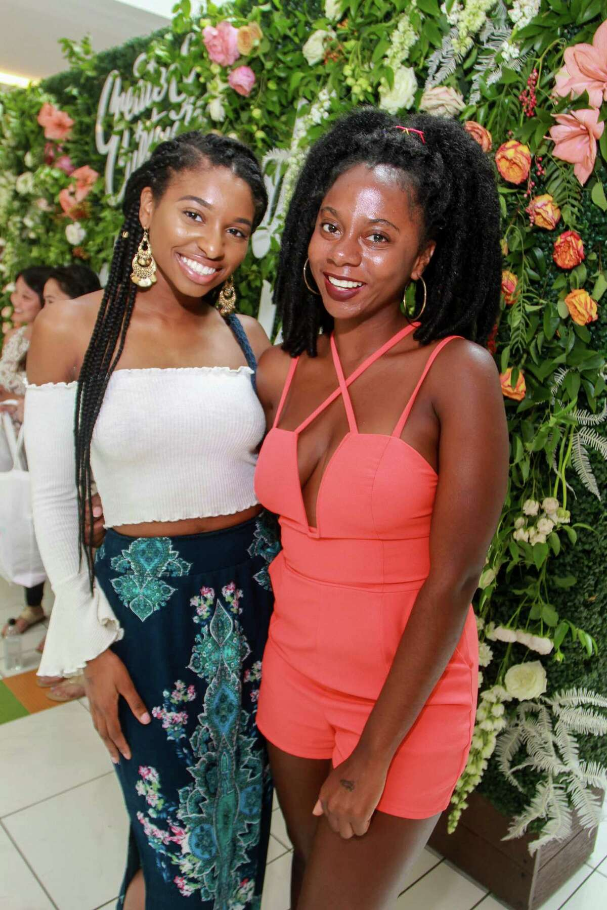 Mandu Mbride, left, and Tiffany Malone at the Create and Cultivate Summit.