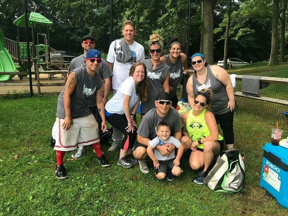 The Basic Pitches team finished as the runner-up at the 2018 Sandy McMurray Co-Ed Softball Tournament on Saturday at Binney Park in Greenwich. Photo: Contributed Photo / Stamford Advocate Contributed