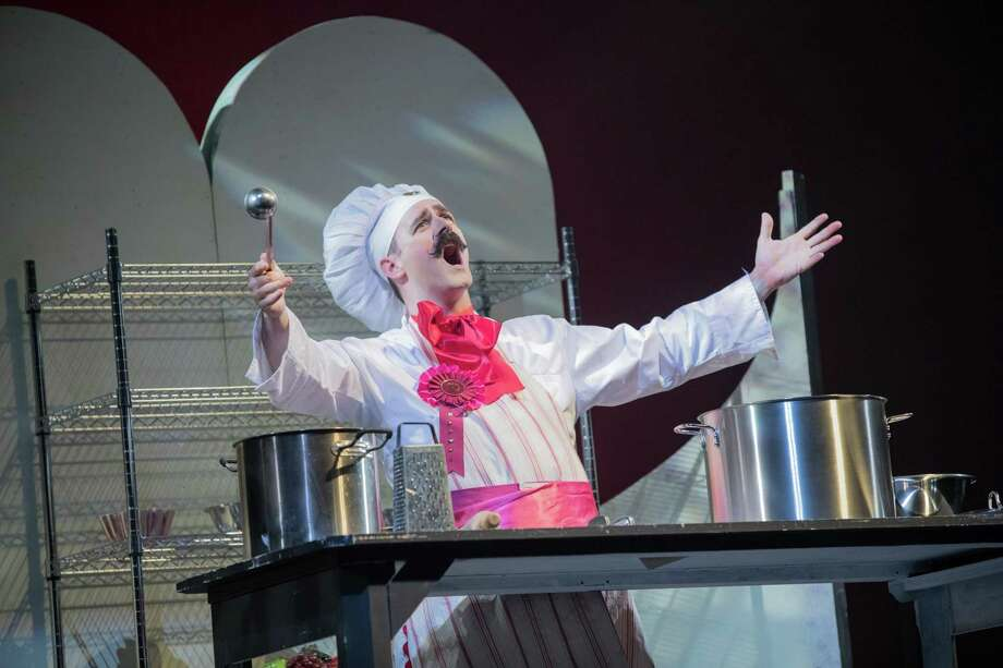 "The Warner Stage Company wraps its production of Disney's ""The Little Mermaid"" Friday, Saturday and Sunday, Aug. 3-5. Above, Eric Lindblom as Chef Louis. Photo: Mandi Martini And Luke Haughwout / Contributed Photo /"