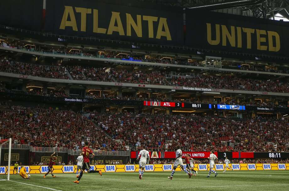 Atlanta United stadium has shattered just about every MLS attendance record since joining the league in 2017. Photo: Soccrates Images / Getty Images / Soccrates Images
