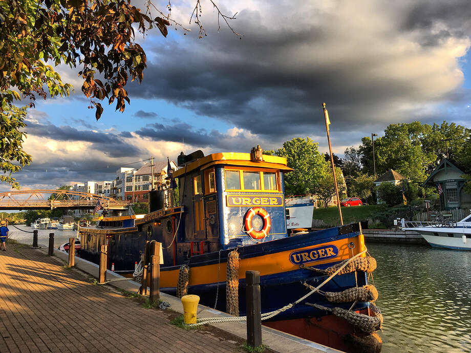 Urger, a teaching tugboat, will be pulled from the Erie Canal, the New York State Canal Corporation has decided. (Photo by Kathy Polino) Photo: Kathy Polino