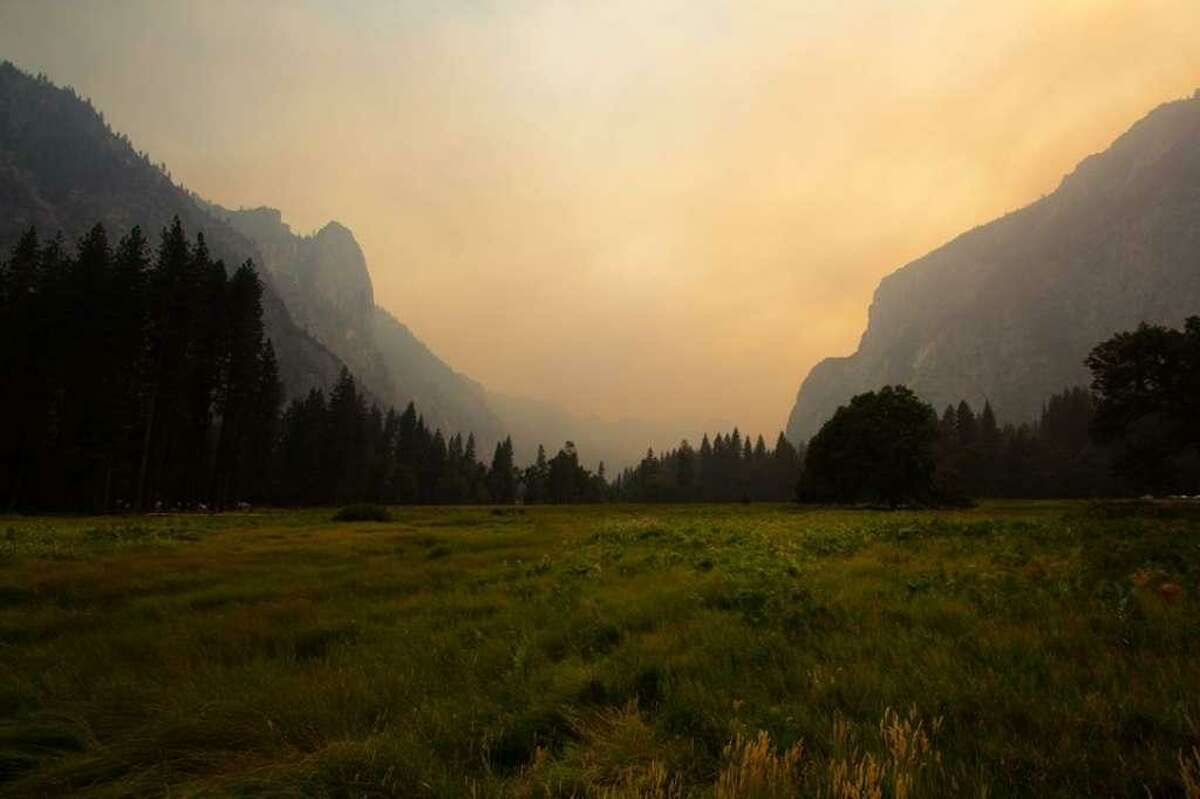 The closure of Yosemite Valley has been extended until Sunday because of ongoing smoky conditions.