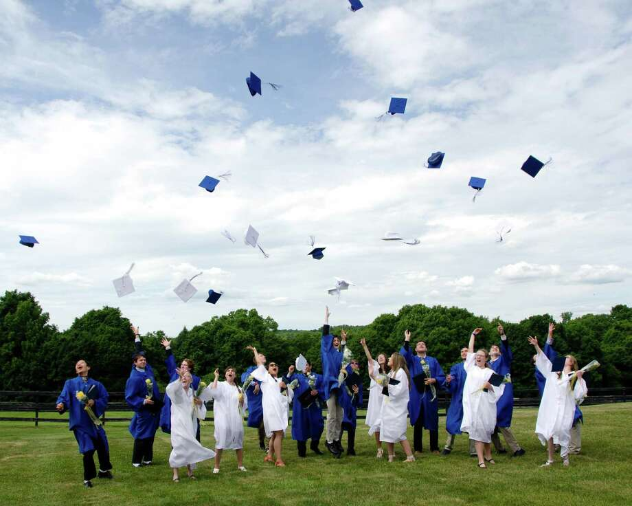 Glenholme School in Washington recently held commencement exercises. Photo: Courtesy Of Glenholme School / The News-Times Contributed