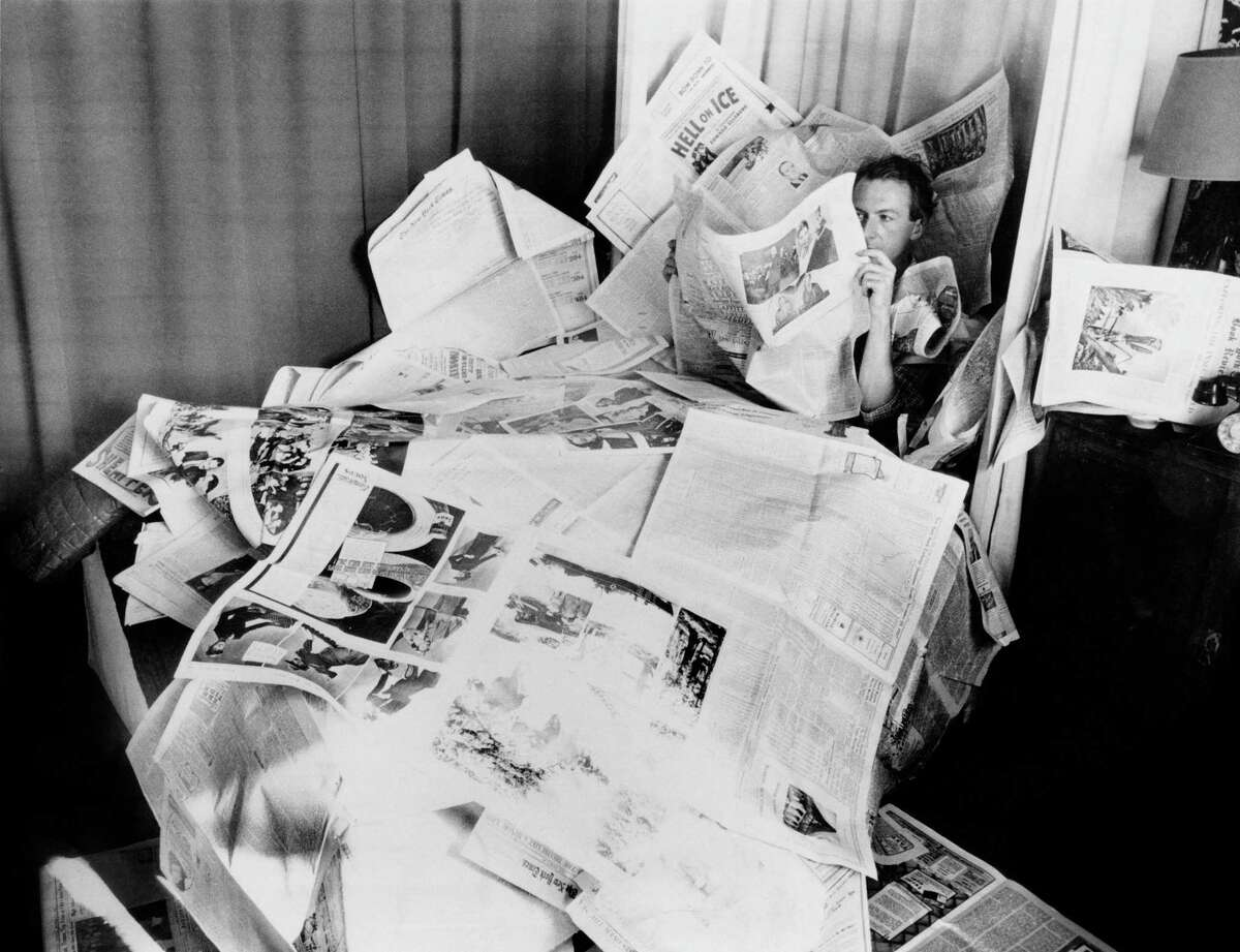 """Cecil Beaton in New York in the late 1930s in """"Love, Cecil."""""""