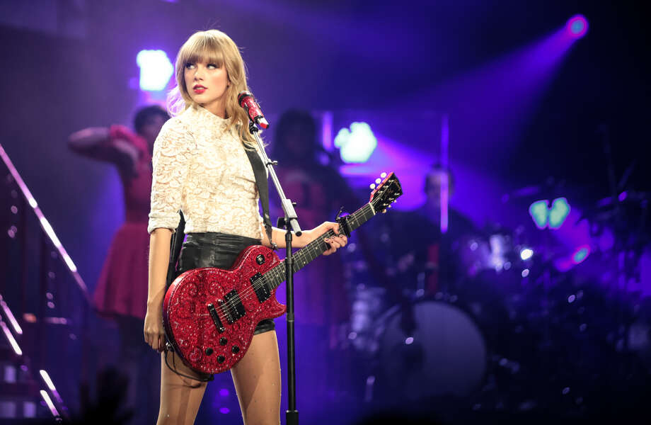 "A computer tried to write a Taylor Swift song using what it learned from her existing songs. Ladies and gentlemen, here's ""The Last Word [Whoa, Whoa-ah-oh]."" >>Now feast your eyes on the real Taylor Swift through the years... Photo: Getty Images"