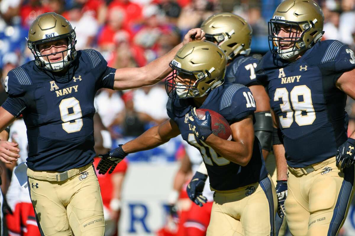 3. Malcolm Perry/Zach Abey, Navy Coach Ken Niumatalolo plans to use both in Navy's triple-option offense. Abey rushed for 1,413 yards and 19 touchdowns last season, while Perry added 1,182 yards and 11 scores.