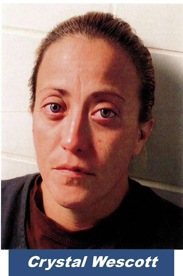 Crystal Wescott is facing federal drug charges after authorities allegedly caught her buying crystal meth. Photo: Bexar County Sheriff's Office