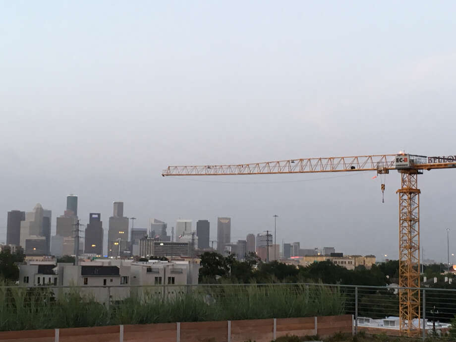 The Houston area added the most construction jobs in the nation during the past year, according to a new report by the Associated General Contractors of America. Photo: Katherine Feser  /  Houston Chronicle