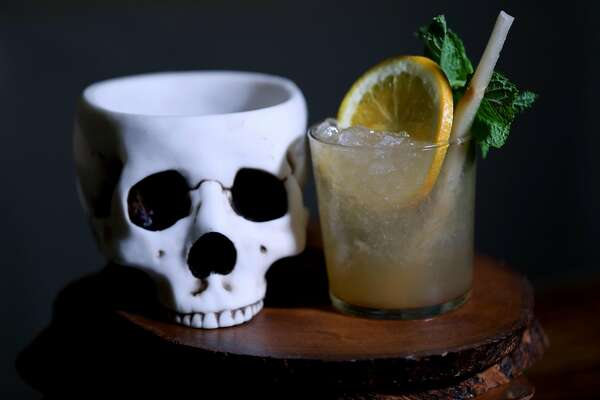 The mai tai is a cocktail at Last Rites, a new tiki bar in the Duboce/Castro neighborhood, located at 718 14th St., in San Francisco, Cali. on Tuesday, July 31, 2018.