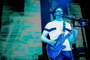 Jack White didn't allow press to photograph his show but instead provided high resolution photos on his website for fans. Photo by David James Swanson.